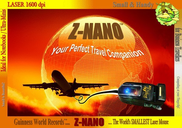Z-Nano - World's Smallest Mouse, Guinness World Records