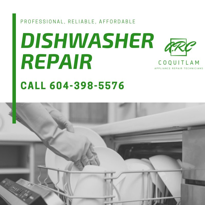 Dishwasher repair in Coquitlam, BC