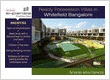 Ready Possession Villas in Whitefield Bangalore | Arvind Expansia