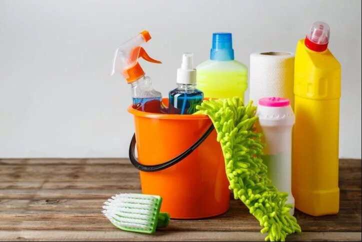 Different Rooms Need Different Cleaning Products