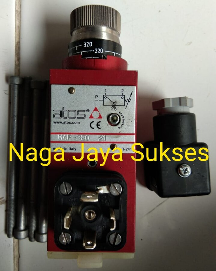 Jual Pressure Switch ATOS MAP-320